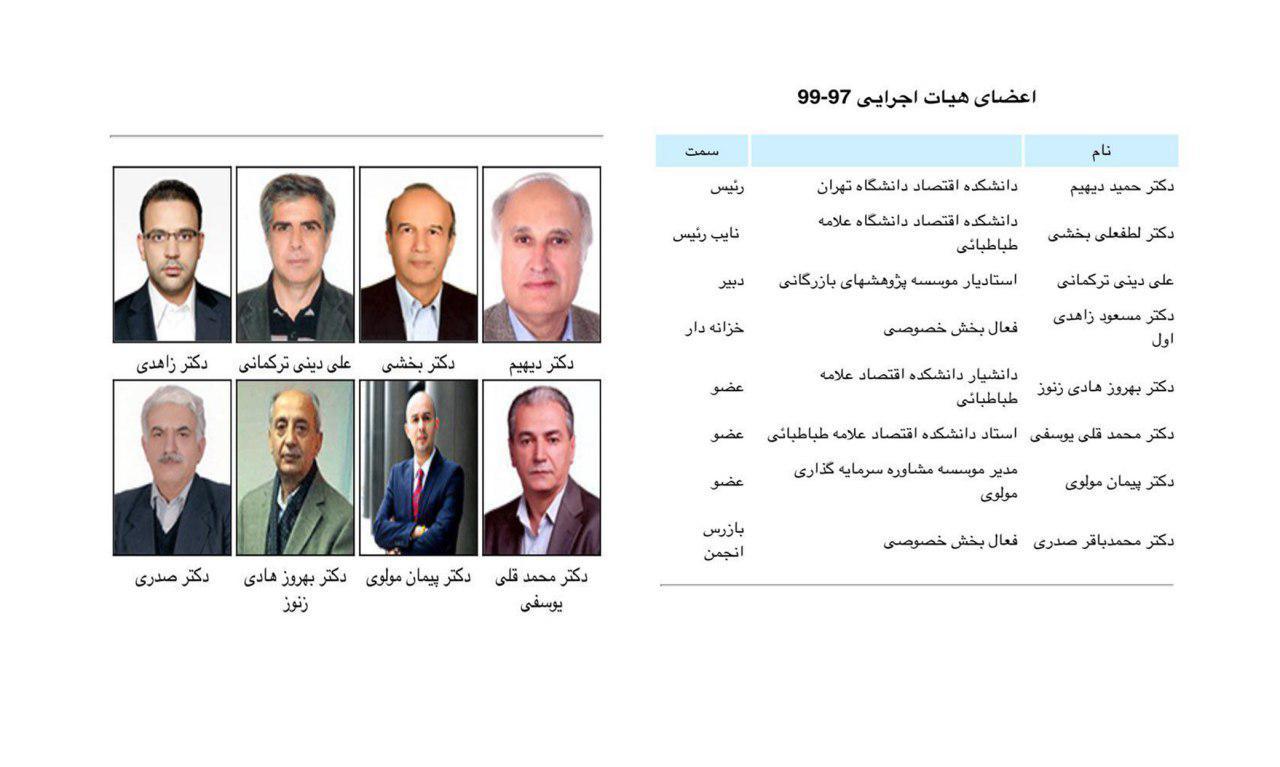 برگزاری سخنرانی های ماهیانه در رابطه با مباحث اقتصادی در انجمن اقتصاد دانان ایران