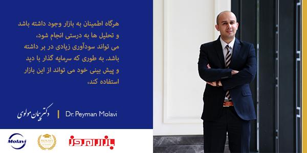 گفتگوی دکتر پیمان مولوی با هفته نامه بازار امروز