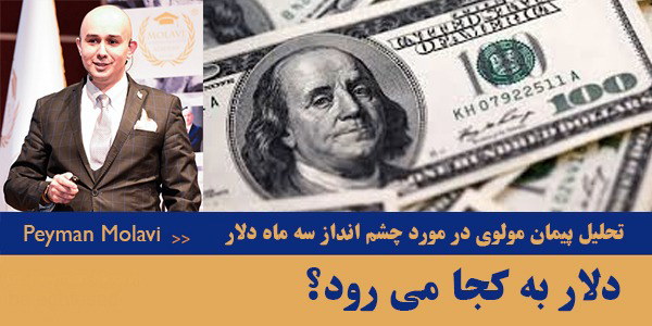 دلار به کجا می رود؟ (تحلیل پیمان مولوی در مورد چشم انداز سه ماه دلار )