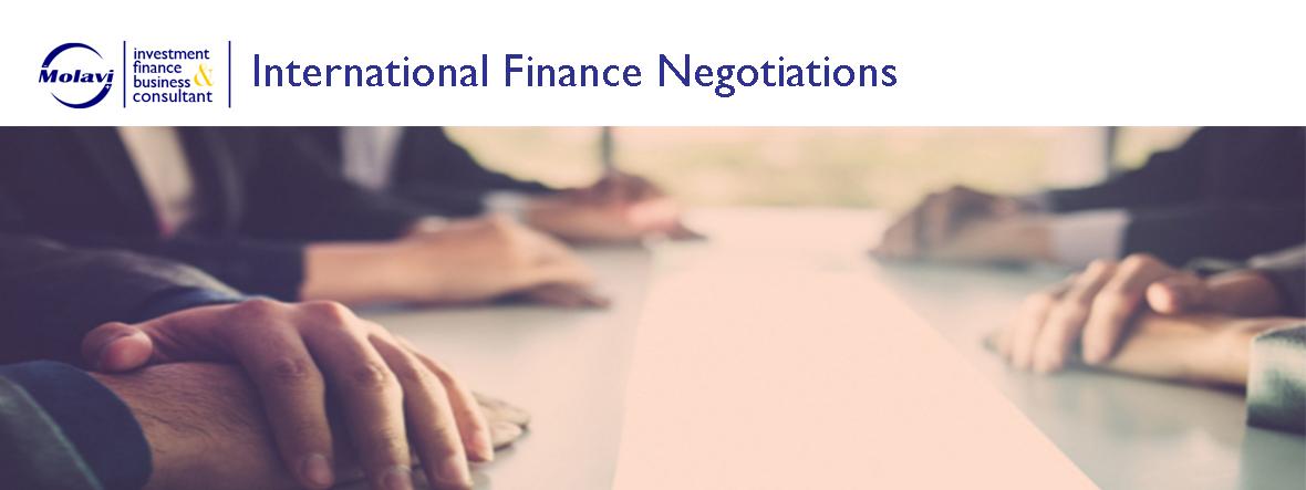 مذاکرات تخصصی تامین مالی