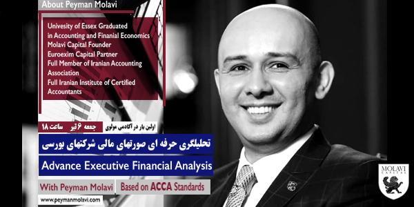 کارگاه آنلاین آموزشی (تحلیلگری حرفه ای صورتهای مالی شرکتهای بورسی)