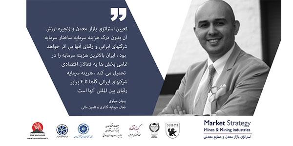 فایل ارائه دکتر پیمان مولوی ( هزینه سرمایه ، رتبه بندی اعتباری بین المللی و نقش تامین مالی و سرمایه گذاری) در توسعه بازار معدن و صنایع معدنی